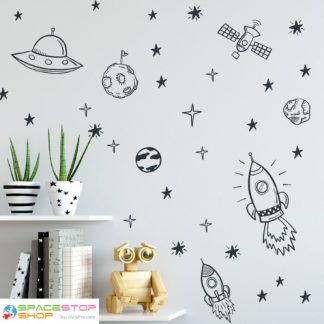Cartoon Outline Wall Art